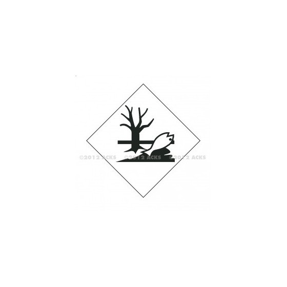 Symbole de danger EN  ADHESIF 300X300