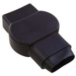 Cache de Protection Noir pour Cosse Batterie PL double serrage (-)
