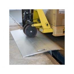 Pont de chargement amovible alu lg600mm l1250mm Deniv -75+75 1200kg